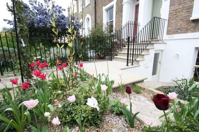 west greenwich front garden