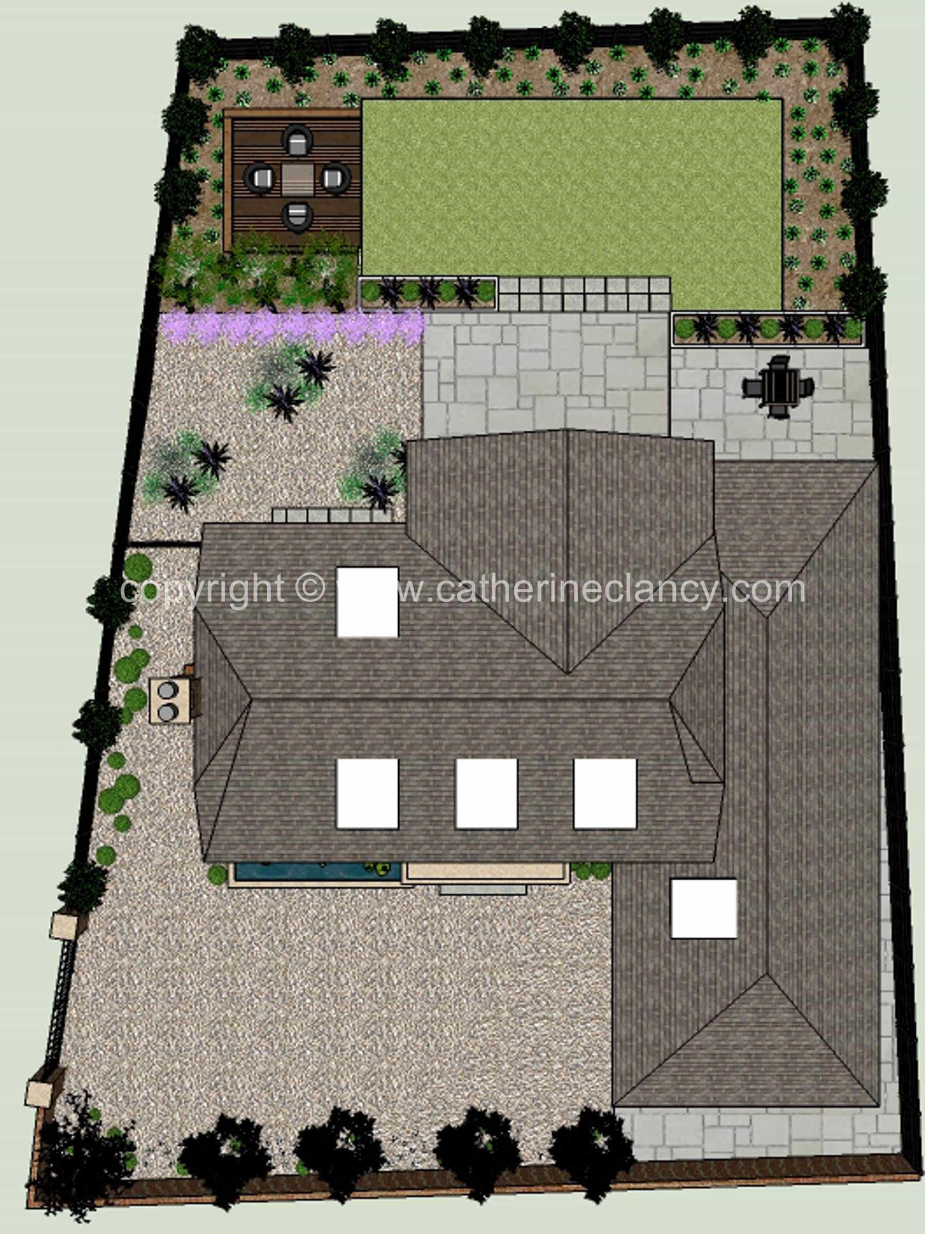 Hendon grand design garden 10 garden design london for Grand designs garden