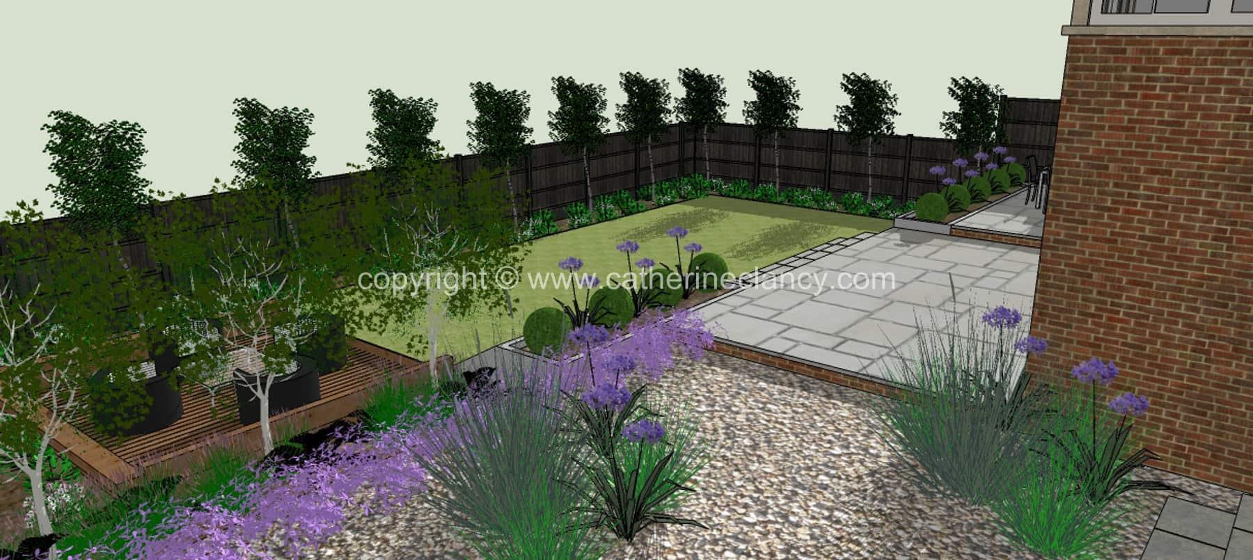 Hendon grand design garden 4 garden design london for Grand designs garden