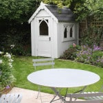 Small greenwich cottage garden