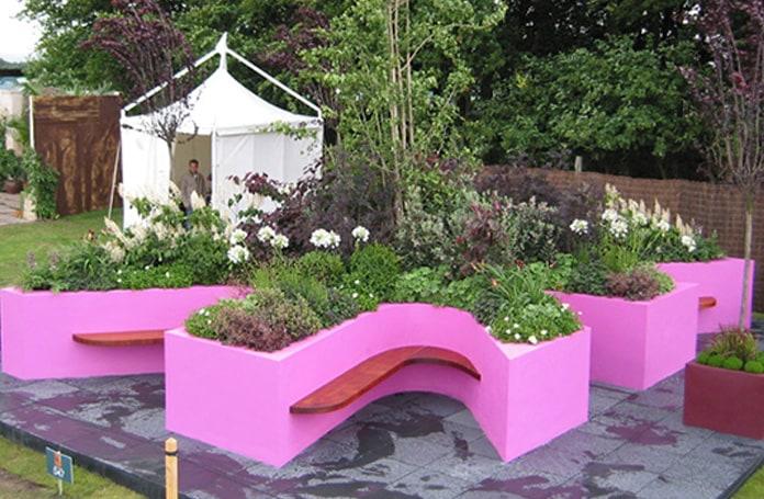 RHS flower show garden