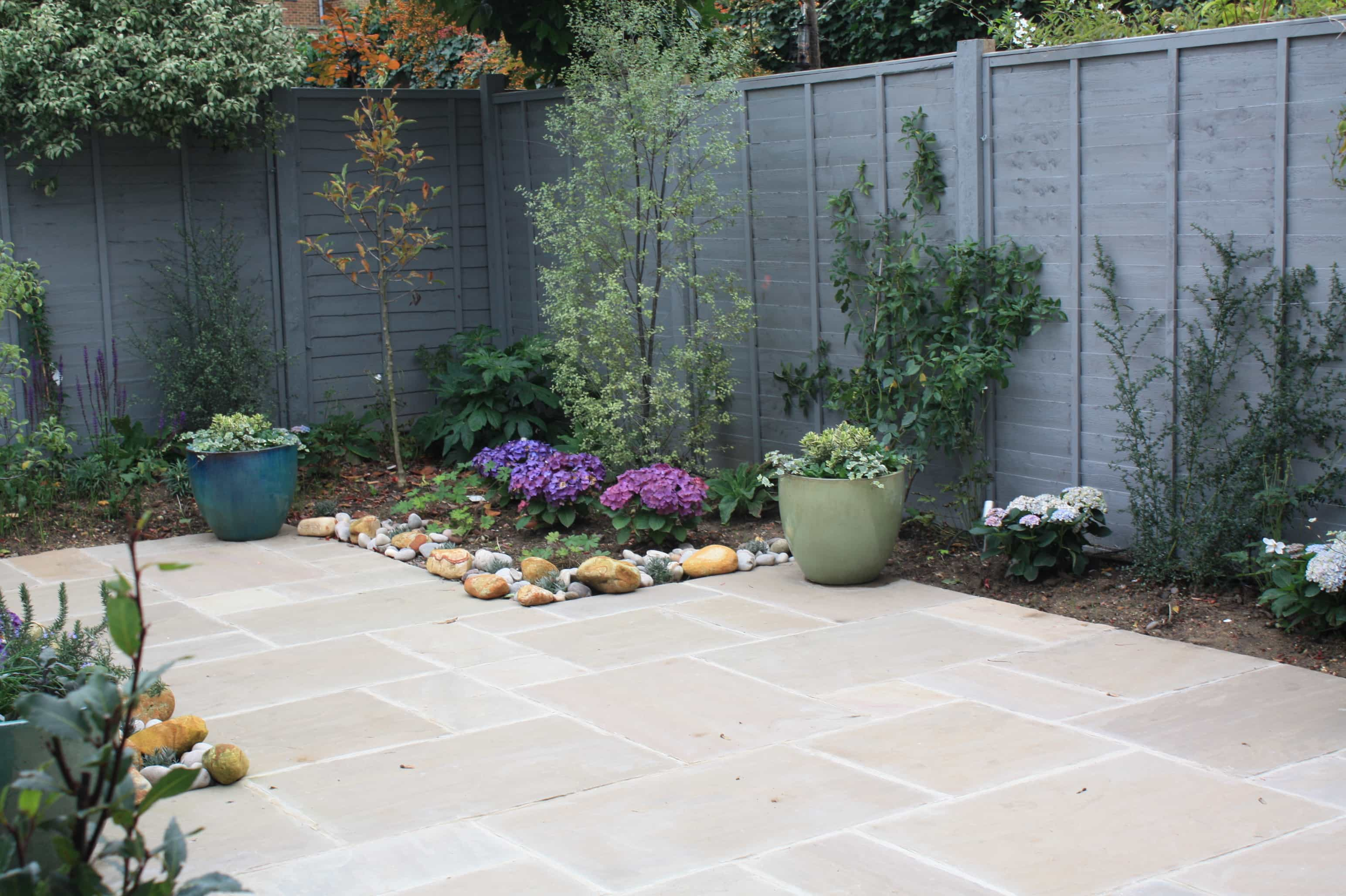peckham blue garden planted